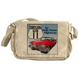 Funny Molly Messenger Bag