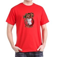 Christmas - Deck the Halls - Pitbull T-Shirt