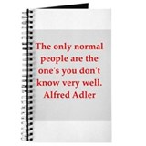 Alfred Adler quotes Journal