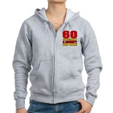 Grumpy 60th Birthday Zip Hoody