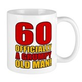 Grumpy 60th Birthday Small Mug