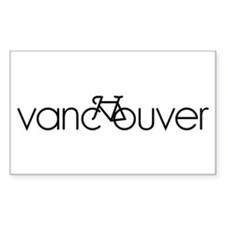 Bike Vancouver Bumper Stickers