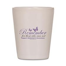 Remember Alzheimer's Shot Glass