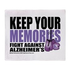 Fight Alzheimer's 2009 Throw Blanket