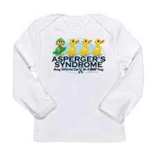 Asperger's Syndrome Ugly Duck Long Sleeve Infant T