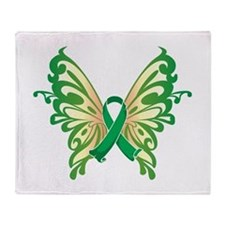 Cerebral Palsy Butterfly Throw Blanket