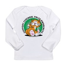 Cerebral Palsy Cat Long Sleeve Infant T-Shirt