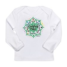 Cerebral Palsy Lotus Long Sleeve Infant T-Shirt