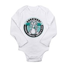 Cervical Cancer Survivor: Box Long Sleeve Infant B