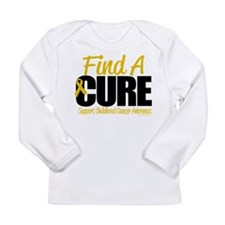 Childhood Cancer Find A Cure Long Sleeve Infant T-