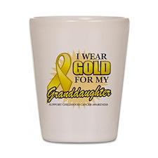 Gold For My Granddaughter Shot Glass