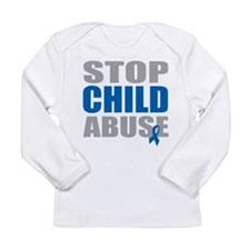Stop Child Abuse 4 Long Sleeve Infant T-Shirt