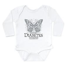 Diabetes Butterfly Onesie Romper Suit
