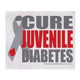 Cure Juvenile Diabetes Throw Blanket