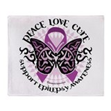 Epilepsy PLC Throw Blanket