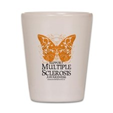 MS Butterfly Shot Glass