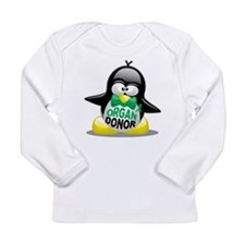 Organ Donor Penguin Long Sleeve Infant T-Shirt