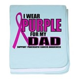 Pancreatic Cancer: Dad baby blanket