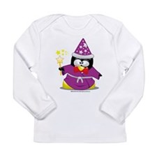 Wizard Penguin Long Sleeve Infant T-Shirt