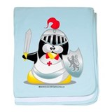 Knight Penguin baby blanket