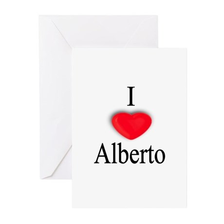 Alberto Greeting Cards (Pk of 10)