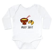 Miso Silly Long Sleeve Infant Bodysuit