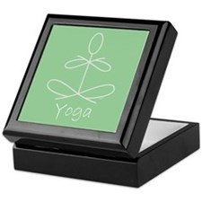Yoga Glee in Green Keepsake Box