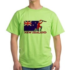 New Zealand Cricket Player T-Shirt