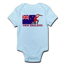 New Zealand Cricket Player Infant Bodysuit