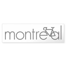 Bike Montreal Bumper Sticker