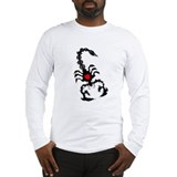 Tribal Scorpion Long Sleeve T-Shirt