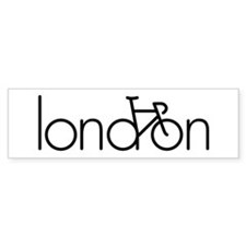 Bike London Bumper Sticker