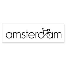 Bike Amsterdam Bumper Sticker