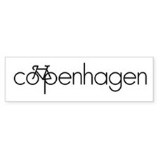 Bike Copenhagen Bumper Sticker