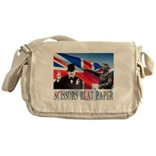 Scissors Beat Paper Messenger Bag