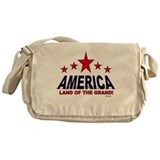 American Land Of The Grand Messenger Bag