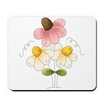 Pretty Daisies Mousepad