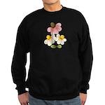 Pretty Daisies Sweatshirt (dark)