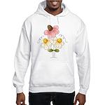 Pretty Daisies Hooded Sweatshirt