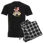 Pretty Daisies Men's Dark Pajamas