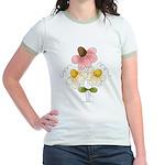 Pretty Daisies Jr. Ringer T-Shirt