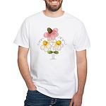 Pretty Daisies White T-Shirt