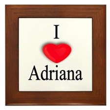 Adriana Framed Tile
