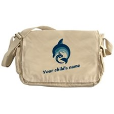 Dolphin Personalized Messenger Bag