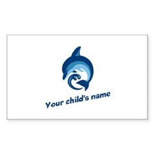 Dolphin Personalized Decal