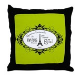 l'Exposition Universelle Throw Pillow