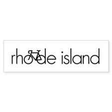 Bike Rhode Island Bumper Sticker