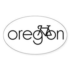 Bike Oregon Decal