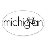 Bike Michigan Decal