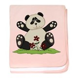 Panda Bear Hug baby blanket